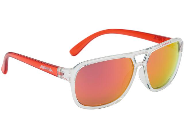 Alpina Yalla Kids Glasses clear-red